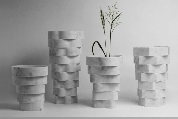Little Gerla Vases By Paolo Ulian