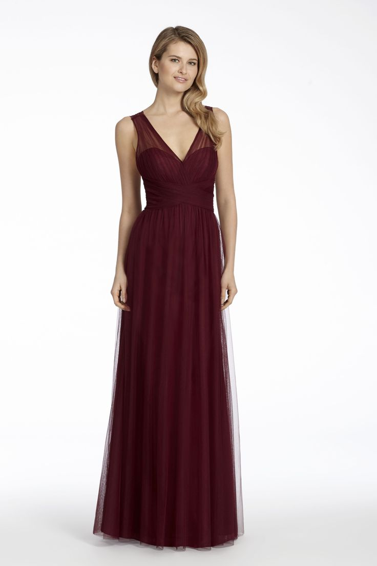 Wedding gown with red accents   best Madeleineus Daughter Bridesmaid dresses images on Pinterest
