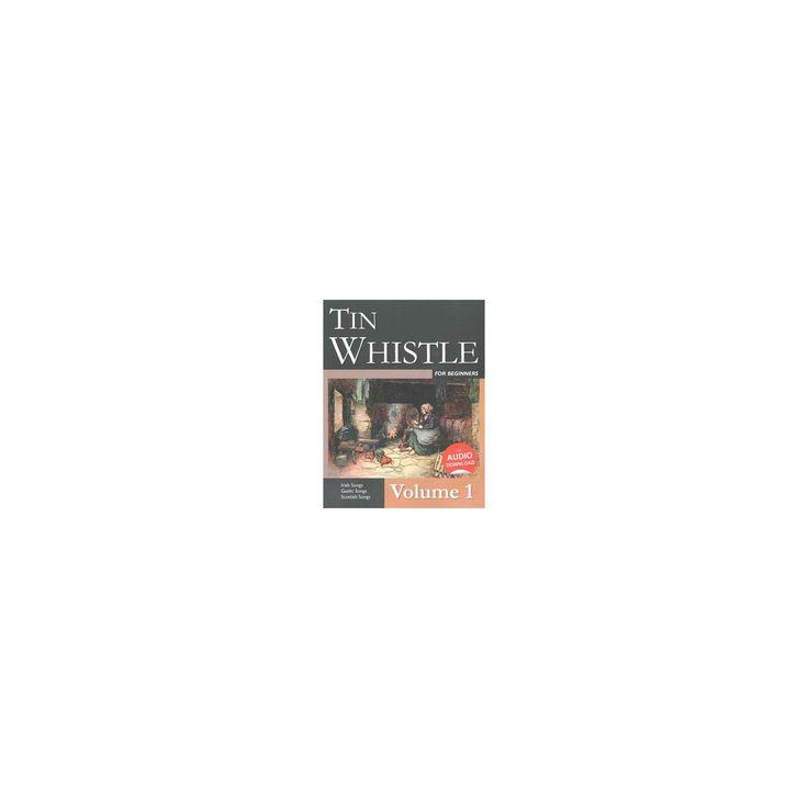 Tin Whistle for Beginners : Irish Songs, Gaelic Songs, Scottish Songs (Vol 1) (Paperback) (Stephen