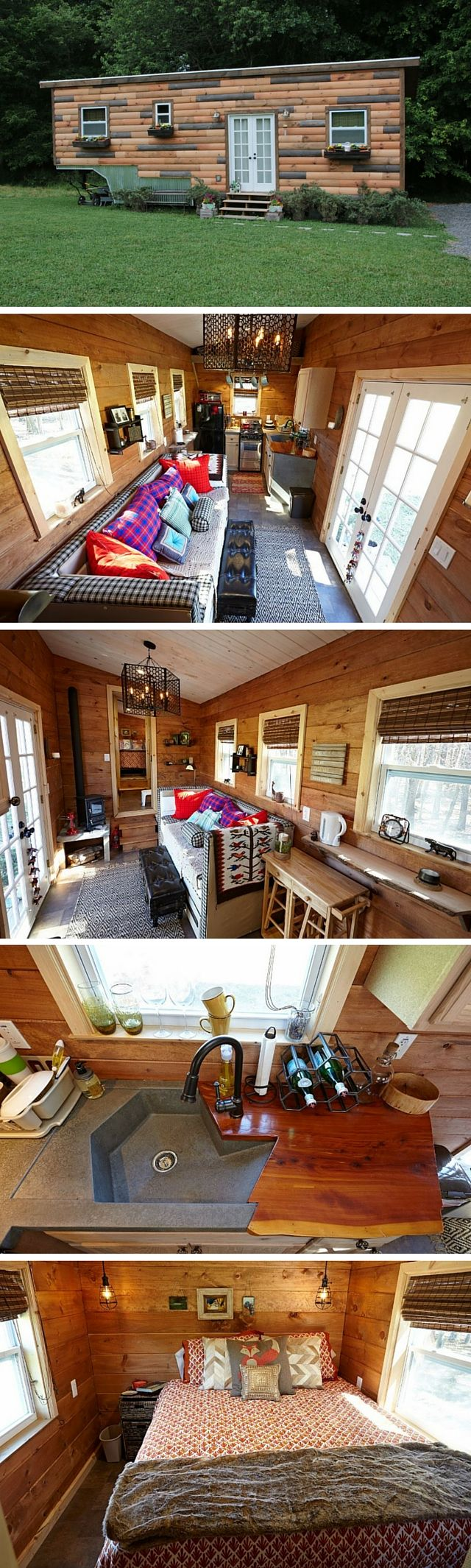 ravishing tiny trailer house. The Nomad Nest  a 276 sq ft Tiny House by Wind River Homes is 237 best Living images on Pinterest house living