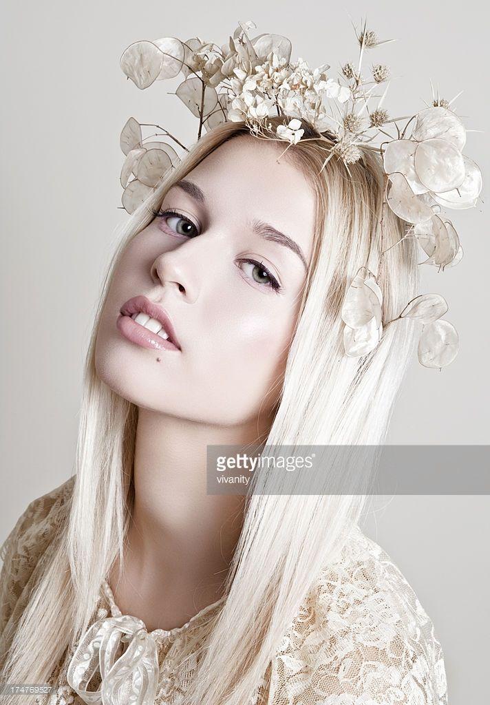 Stock Photo : Flower Crown