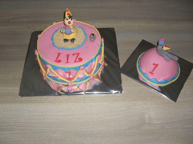 Bumba taart roze/ Pink Bumba cake