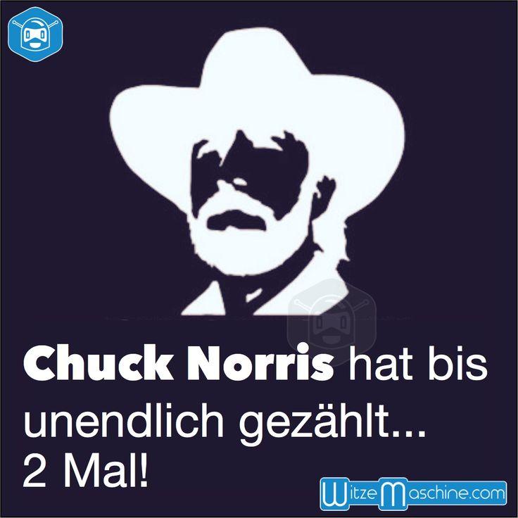 Chuck Norris Witze - Er hat zweimal bis unendlich gezählt - Infinity