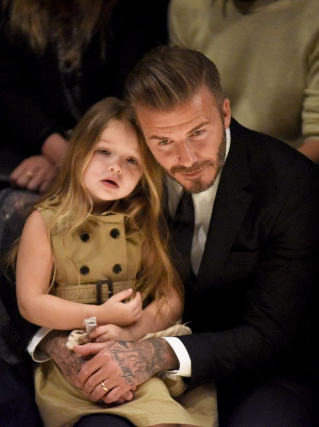 "And catch Harper being like, ""Boring, I've been sewing couture since I was in diapers."" 
