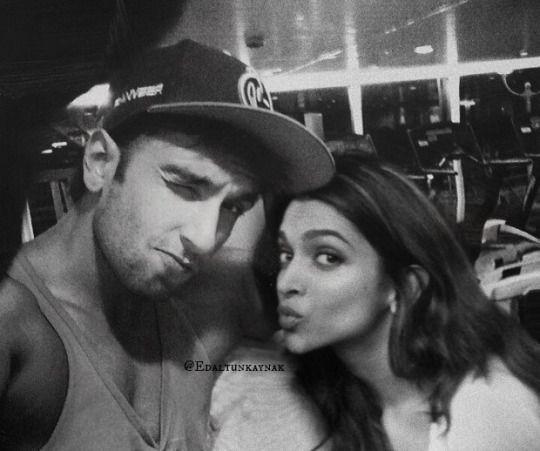 Deepika and ranveer. So adorable