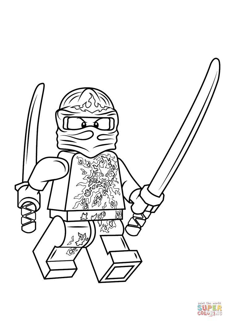 Les dessins de lego ninjago 20 lego pinterest for Ninjago coloring pages lloyd