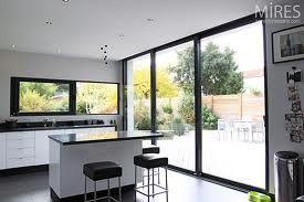baie vitree pvc noir recherche google ch ssis alu pinterest search. Black Bedroom Furniture Sets. Home Design Ideas