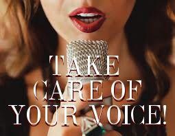 Φροντίδα φωνής τραγουδιστή