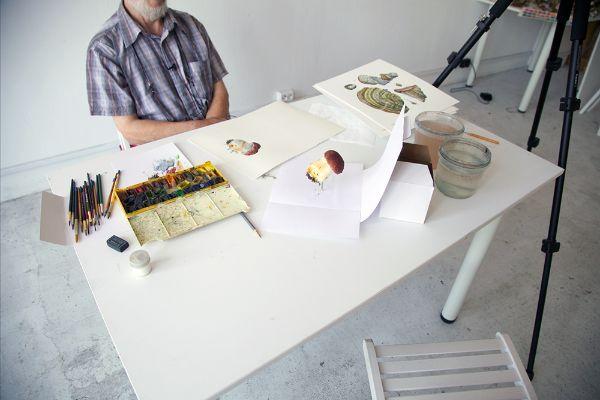 Ботаническая живопись с Александром Вязьменским на Lectoroom