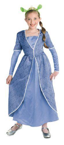 Deluxe Princess Fiona Child Costume (Medium)