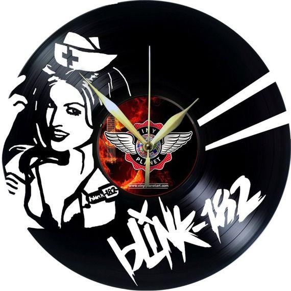 Horloge Vinyle décoration BLINK - 182
