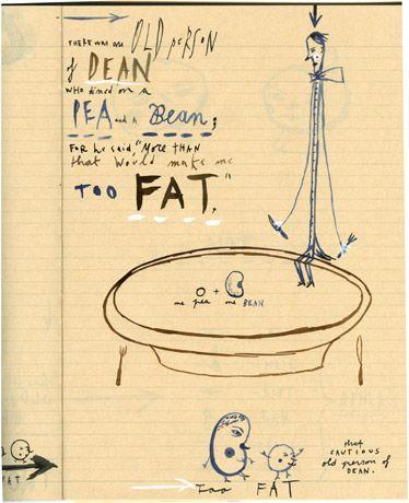 A ppek into illustrator/artist Sara Fanelli's sketchbook. www.sarafanelli.com