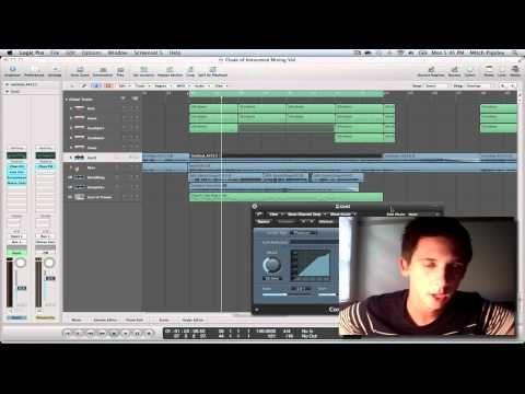 ▶ Logic Pro 9 Tutorial - Mixing Techniques (Part #1) - YouTube
