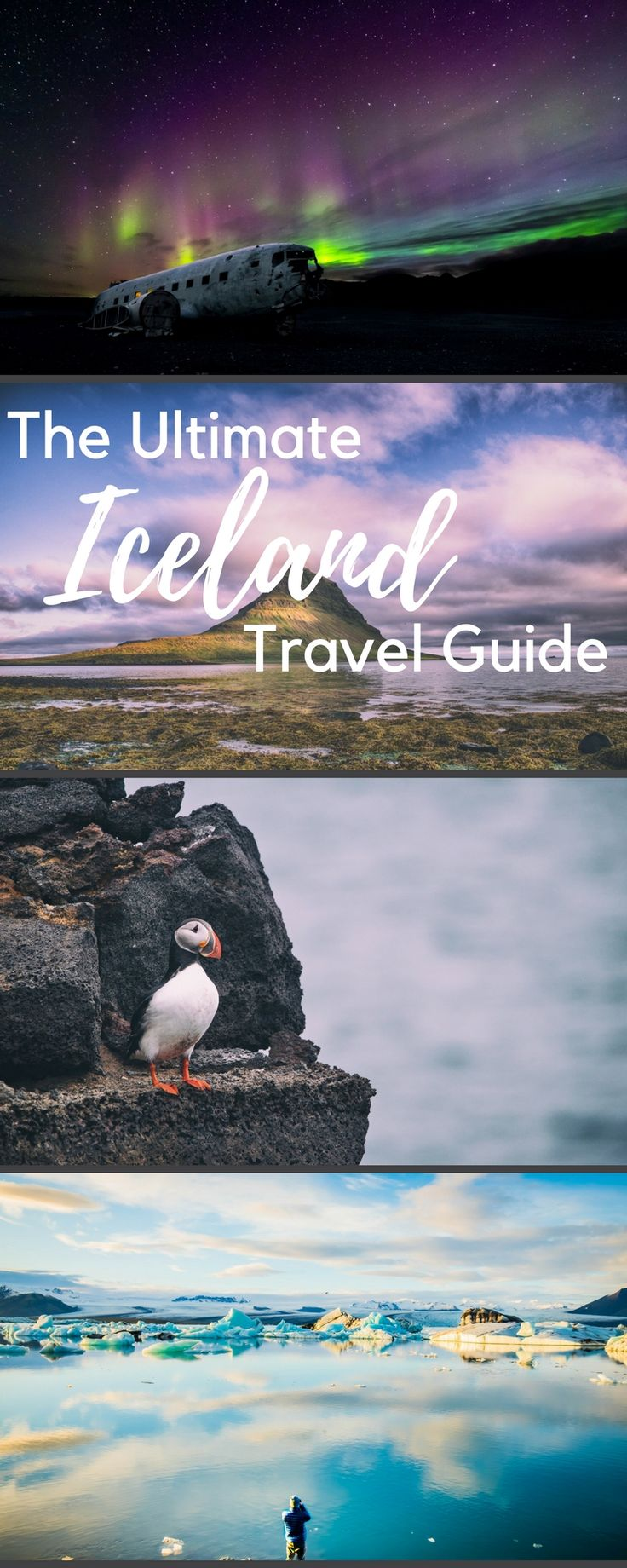 The ultimate Iceland travel guide is here. Average costs of traveling in Iceland, including what to see, and things to do.  Travel in Reykjavik, the Blue Lagoon, Nature Honeymoon, the perfect itinerary, good hiking, and all the gret road trips.