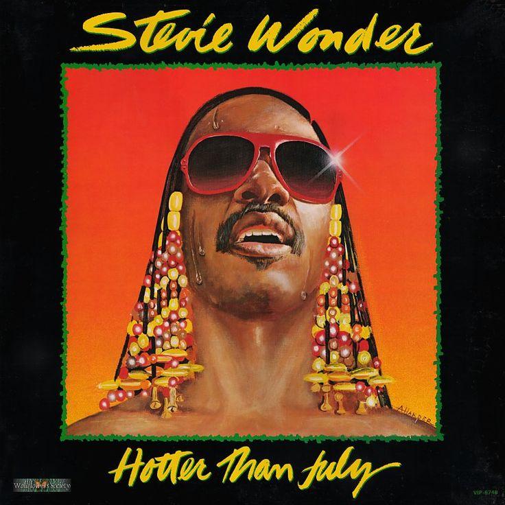 Hotter than July / Stievie Wonder 1981   Stevie wonder