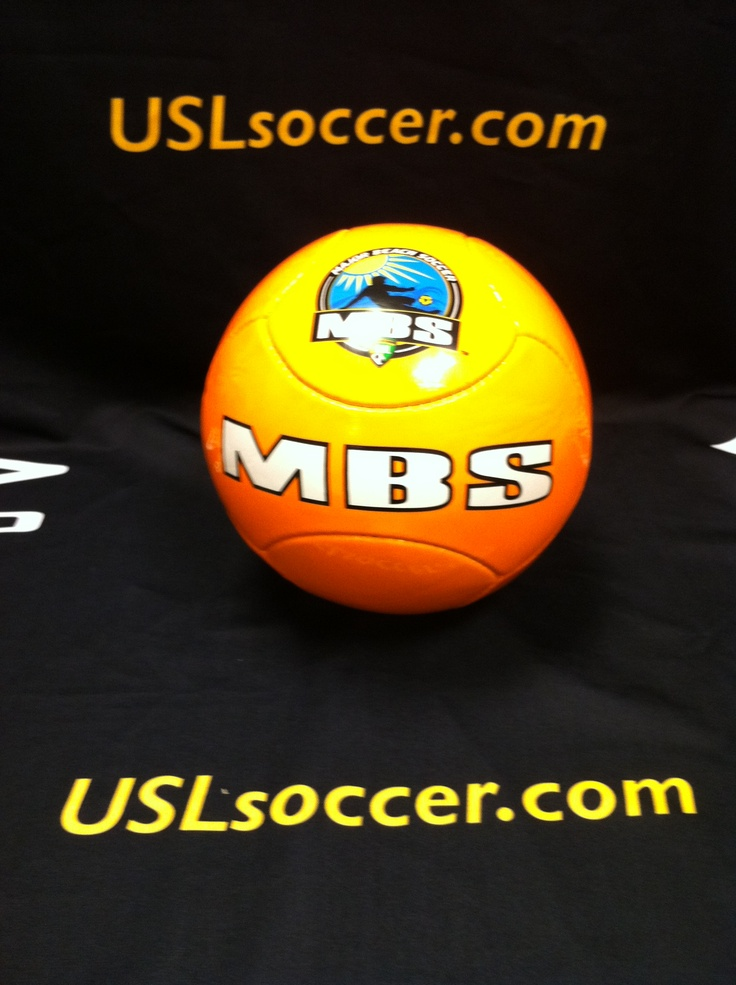 Take a closer look at the official MBS Ball! You can purchase it this July 13 at Clearwater Beach!