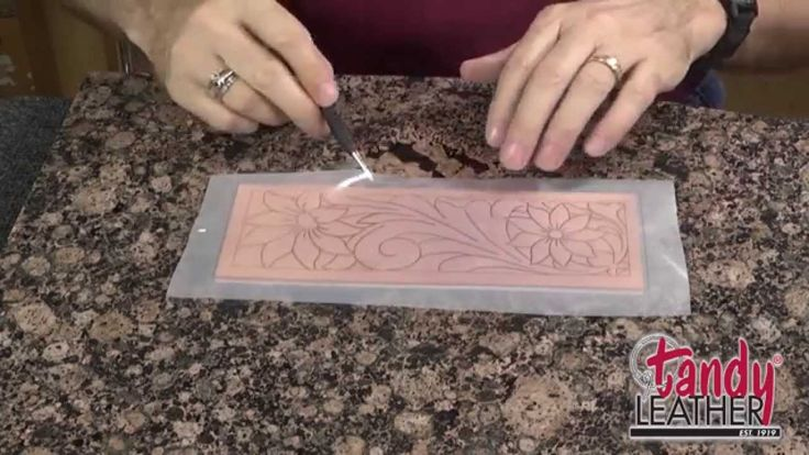 Learning Leathercraft with Jim Linnell, Lesson 1 Tracing