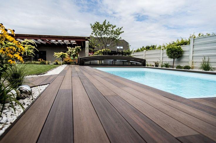 Terasy, podlahy k bazénom, dosky na terasu | Timbermax