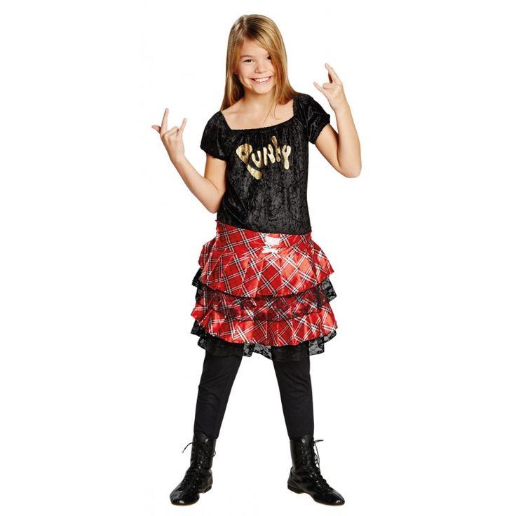 Punk Kleid für Mädchen