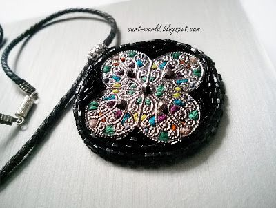 Mój własny kreatywny świat: Mandala - wisior