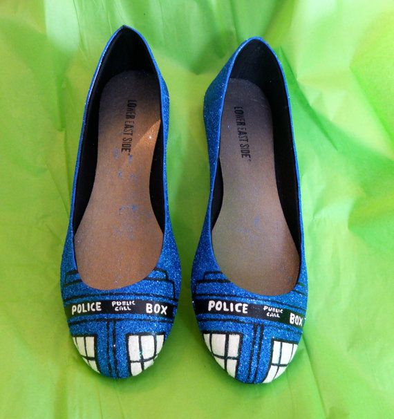 Hey, I found this really awesome Etsy listing at http://www.etsy.com/listing/125576787/doctor-who-tardis-glitter-shoes