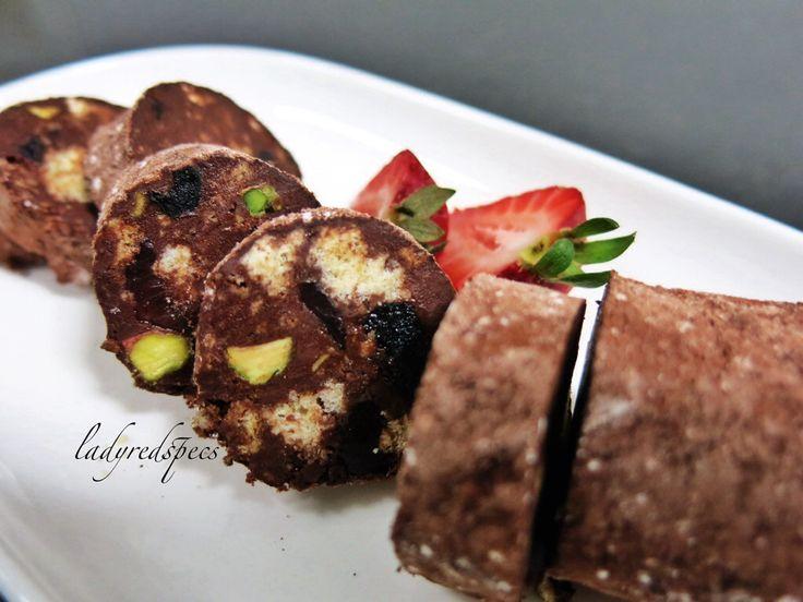 Chocolate Yuletide Log