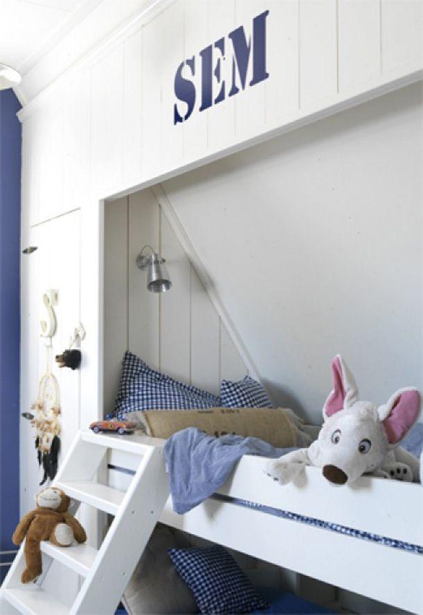 De leukste  bedstee-bedden voor de kinderkamer