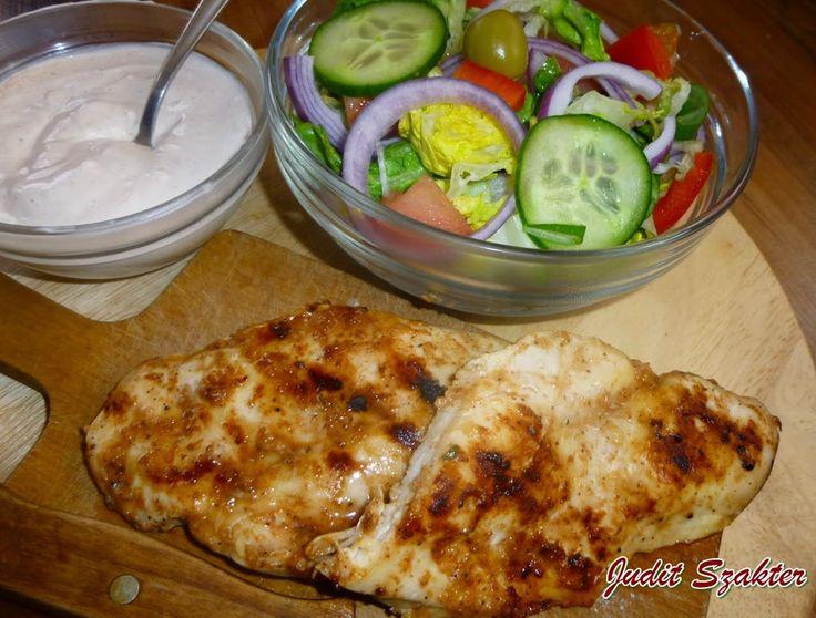 Mit eszik a magyar: Szaftos csirkemell steak