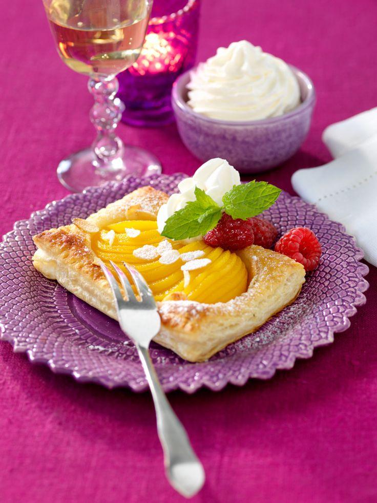 Snabblagad dessert som är god till kaffet! Ett enkelt och mycket gott recept!