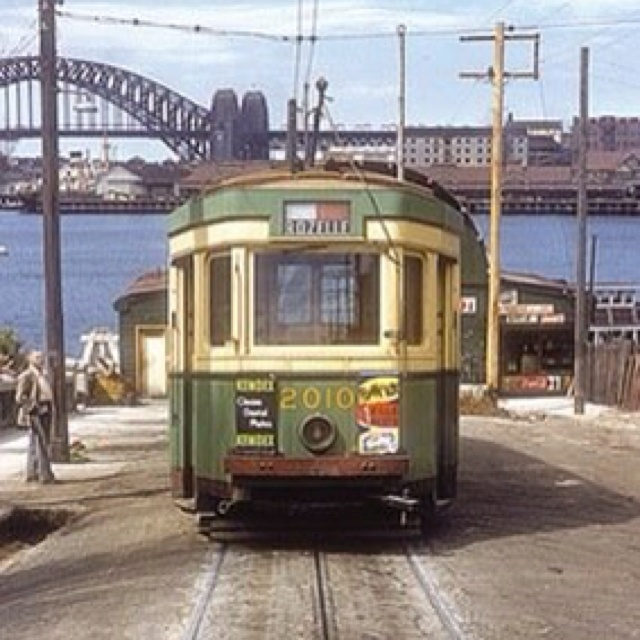 Darling street Balmain (old photo) One of the biggest mistakes Sydney Town Planners ever was to do away with the city & suburbs tram network ! Now Traffic is one the biggest problems Sydney has !