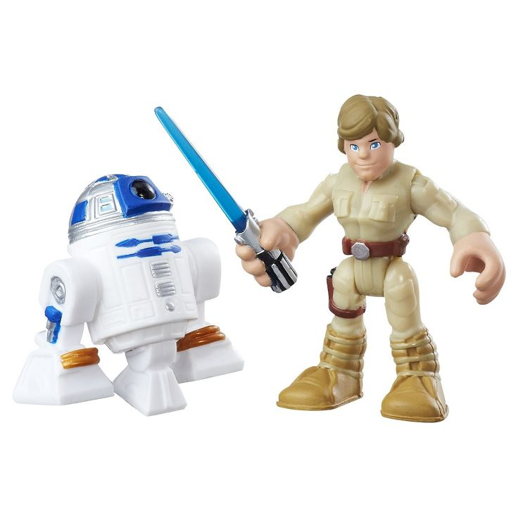 Playskool Heroes Star Wars Galactic Heroes R2-D2 and Luke Skywalker