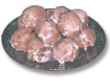 Italian Meatball Cookies...grew up with these at weddings in the pyirmid of cookies at either end of the bride's table