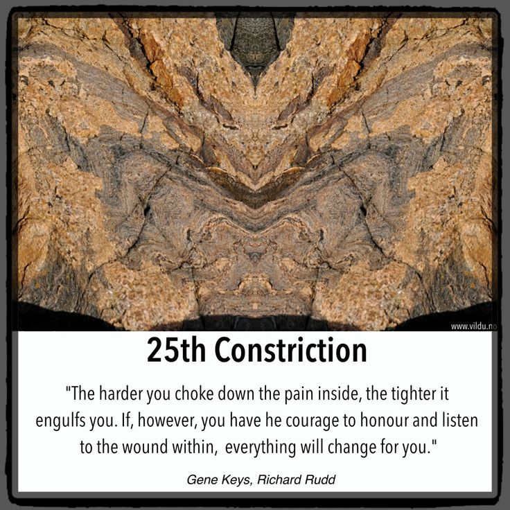 25 constriction , shadow