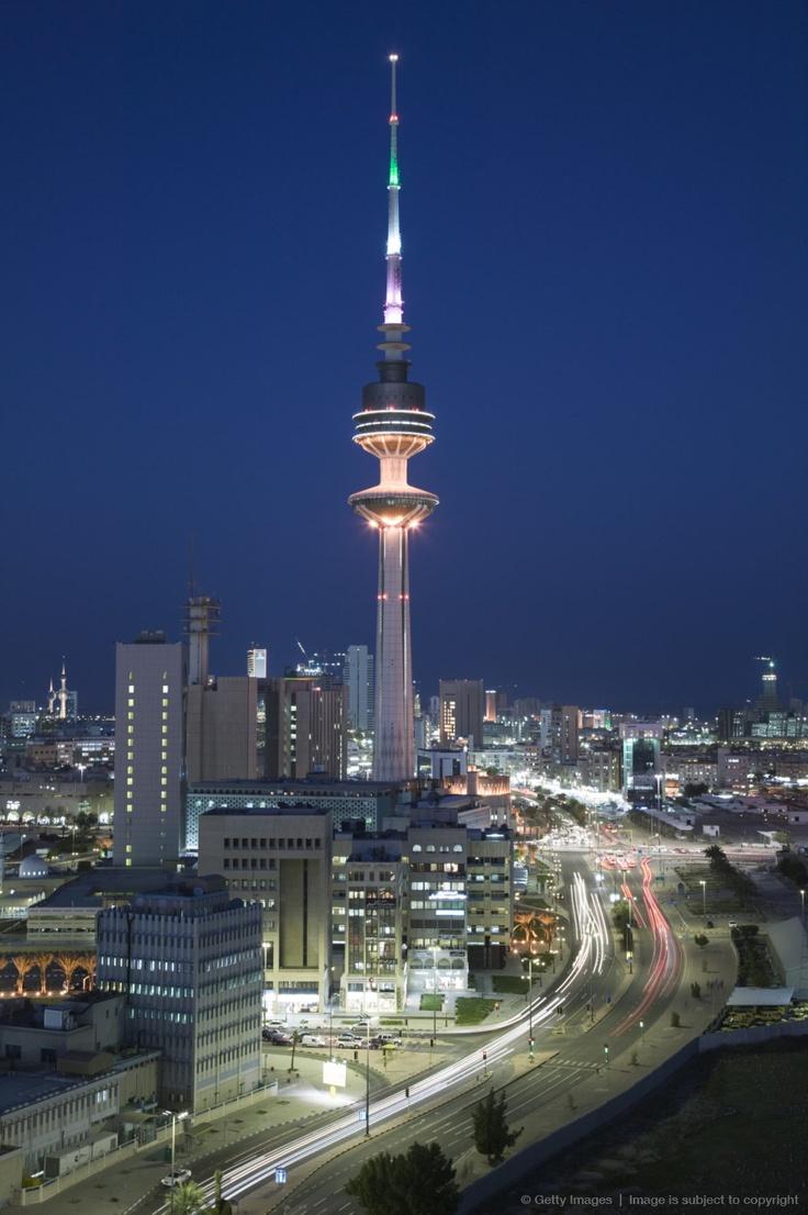 Kuwait, Kuwait City, Liberation Tower and City