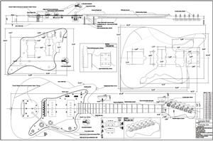 Bass Electric Guitar furthermore 766597167792906506 also Guitar Plans furthermore Fender Jaguar Wiring Diagram as well Marauder Vibrato Plate Jazzmaster Style Vibrato. on fender telecaster template