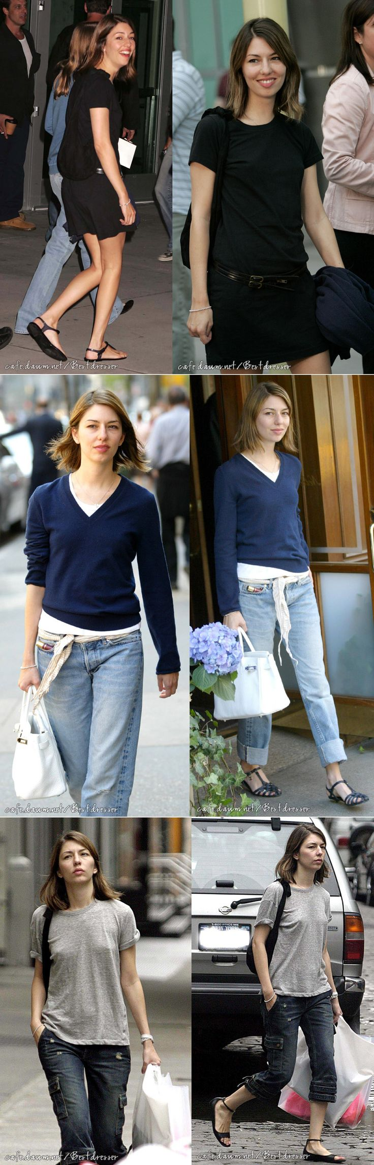 Sophia Coppola | casual I love her style it is just how I like to dress