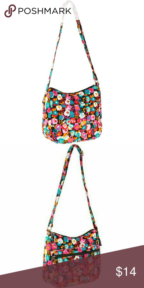 Brand New Waverly Multi-Color Inspiration Handbag MADE IN USA Everyday bag and this Waverly Women's Hobo Quilt Bag is exactly what you need. The main compartment is large enough to store all of the things you need to get through your day and then some.  100% cotton All-over Waverly pattern Quilted design Large adjustable handle Three outer pockets Three inner pockets Pull-tab zipper Similar to a Vera Bradley Dimensions (L x W x H):11.00 x 4.00 x 11.00in Care Tips Machine wash cold, gentle…