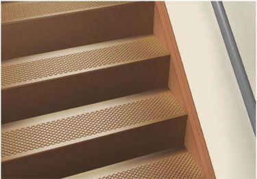 Roppe 174 Rubber Stair Tread Non Slip Diamond Design Stair