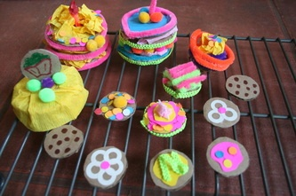 Cardboard Creations: Cake
