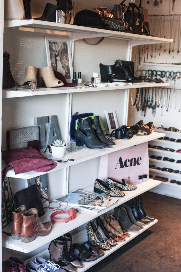 The closets of some of your favorite fashion bloggers are just as pretty as you'd imagine. See their gorgeous spaces here.