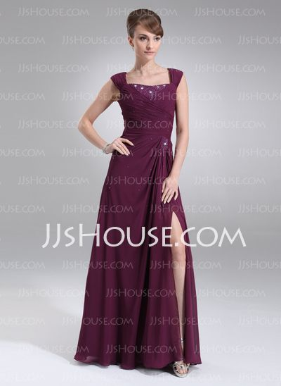 Mother of the Bride Dresses - $142.99 - A-Line/Princess Sweetheart Ankle-Length Chiffon Mother of the Bride Dress With Ruffle (008006502) http://jjshouse.com/A-Line-Princess-Sweetheart-Ankle-Length-Chiffon-Mother-Of-The-Bride-Dress-With-Ruffle-008006502-g6502