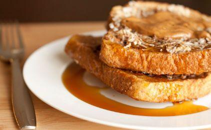 Γαλλικά τοστ με μέλι