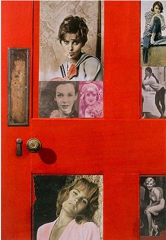 Peter blake Girlie Door - from the reply series © Artist