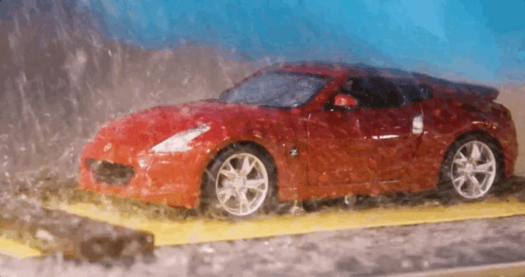 Here Is The Tiny Tiny Car Wash Nissan Uses To Test Paint