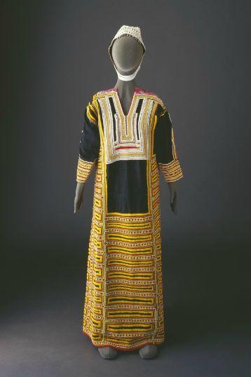 Traditional costume of Bani Malik tribe of Saudi Arabia