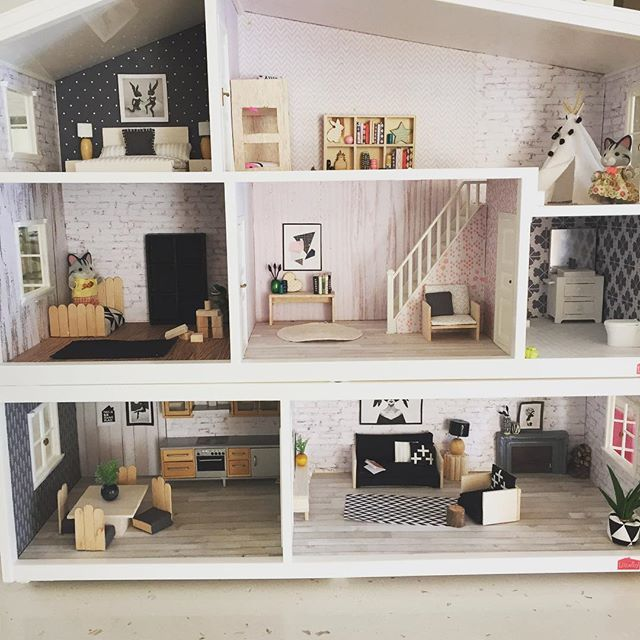 165 best Dollhouse Inspiration images on Pinterest Modern