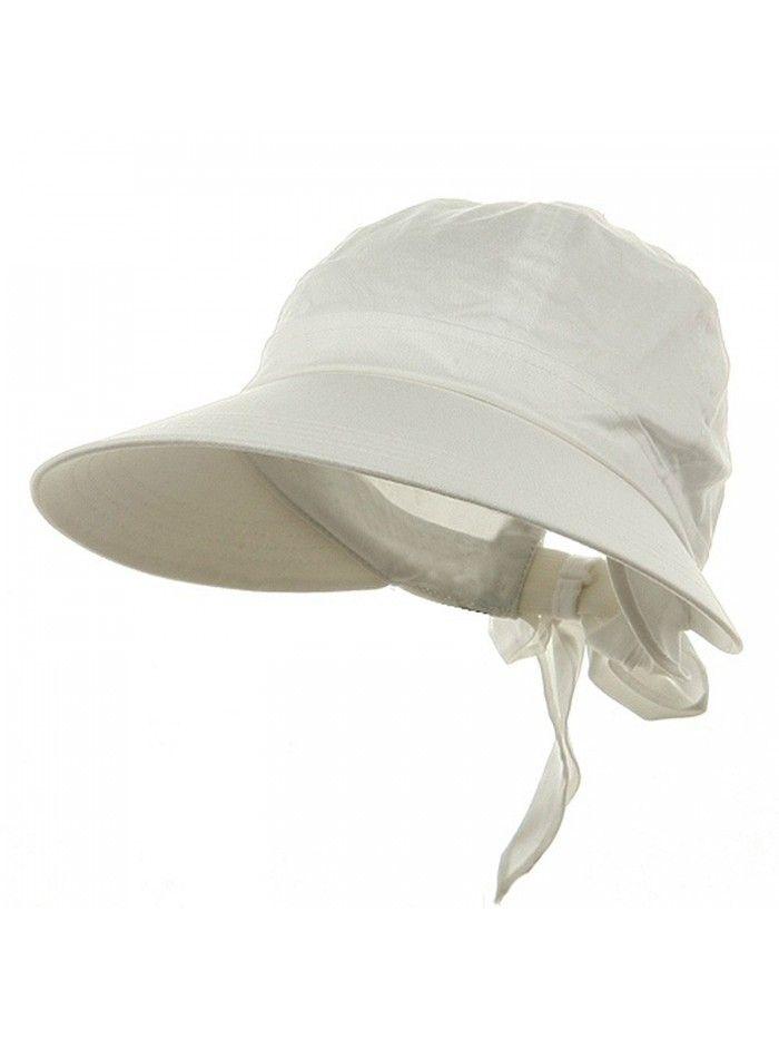 Las White Wide Brim Cotton Garden Beach Hat W Tie Back C311rbpz10n Hats Caps Women S Sun Menscaps Menshats Menstyle