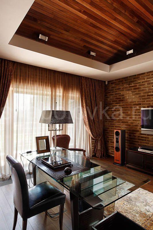 кабинет - интерьер в современном стиле  Архитектурное бюро Шаболовка
