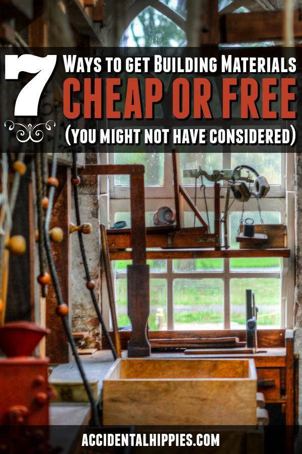 7 More Awesome Ways To Save Money On Building Supplies Accidental Hippies Play Houses Home Building Tips Building A Shed