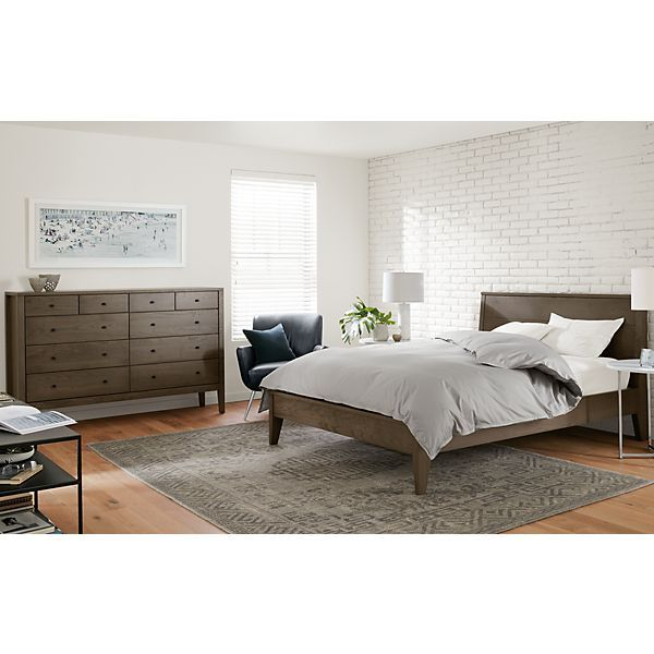 Room Board Calvin Bed Dresser In Bark